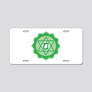 Six-Point Star Aluminum License Plate