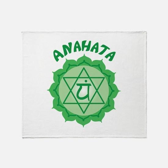 Anahata Throw Blanket