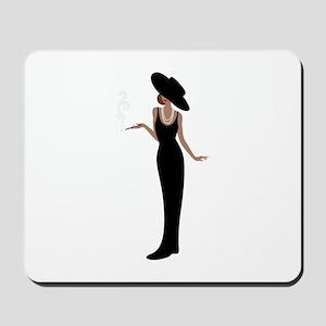 Foxy Diva Smoking Classy Lady Mousepad