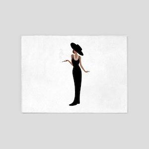 Foxy Diva Smoking Classy Lady 5'x7'Area Rug