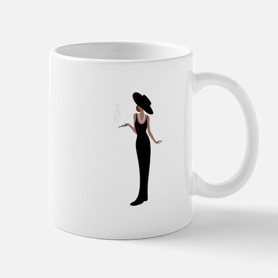Foxy Diva Smoking Classy Lady Mugs
