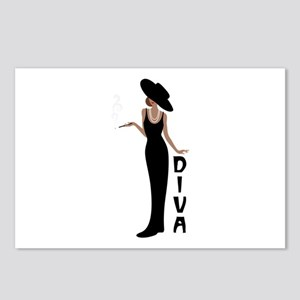Diva Postcards (Package of 8)