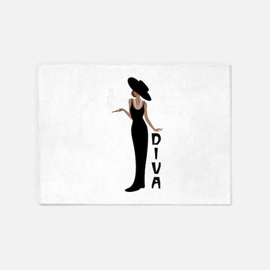 Diva 5'x7'Area Rug