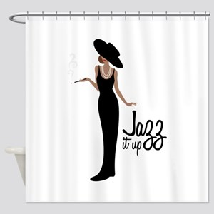 Jazz it up Shower Curtain
