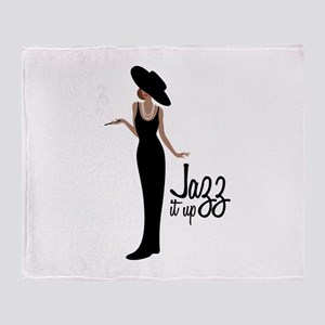 Jazz it up Throw Blanket