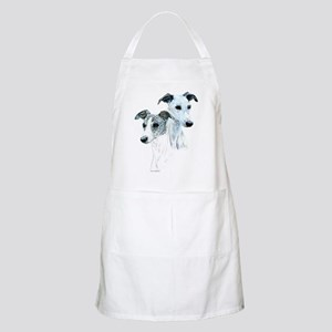 Whippet Pair BBQ Apron