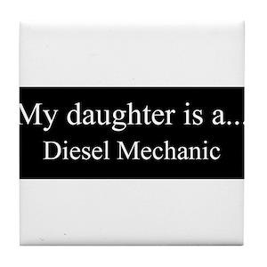 Diesel Mechanic Coasters Cafepress