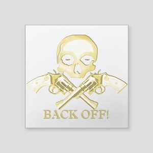 BACK OFF! Sticker