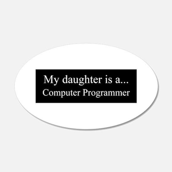 Daughter - Computer Programmer Wall Decal