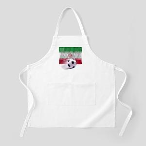 Soccer Flag Iran BBQ Apron