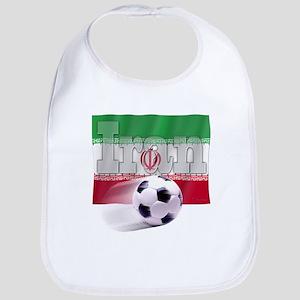 Soccer Flag Iran Bib