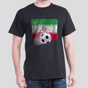 Soccer Flag Iran Dark T-Shirt