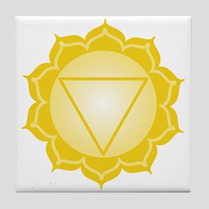 Blank Caption Triangle Tile Coaster