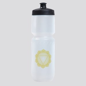 Blank Caption Triangle Sports Bottle