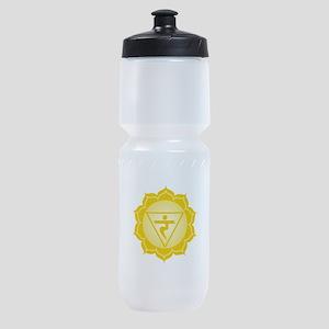 Caption Traingle Sports Bottle