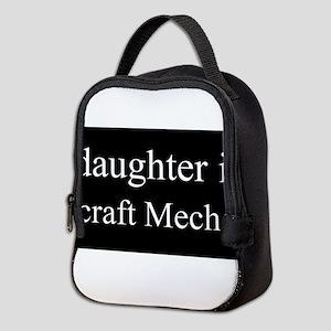 Daughter - Aircraft Mechanic Neoprene Lunch Bag