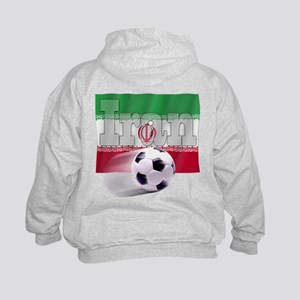 Soccer Flag Iran (B) Kids Sweatshirt
