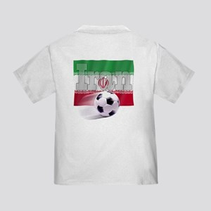 Soccer Flag Iran (B) Toddler T-Shirt