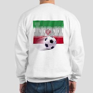 Soccer Flag Iran (B) Sweatshirt