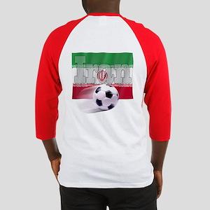 Soccer Flag Iran (B) Baseball Jersey