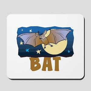 Kid Friendly Bat Mousepad