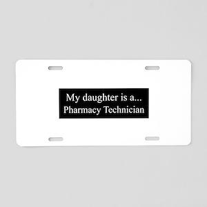 Daughter - Pharmacy Technician Aluminum License Pl