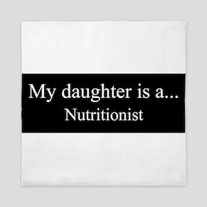 Daughter - Nutritionist Queen Duvet