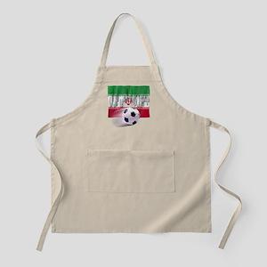 Soccer Flag Iran (Arabic) BBQ Apron