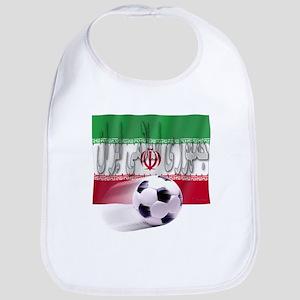 Soccer Flag Iran (Arabic) Bib