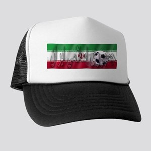 Soccer Flag Iran (Arabic) Trucker Hat