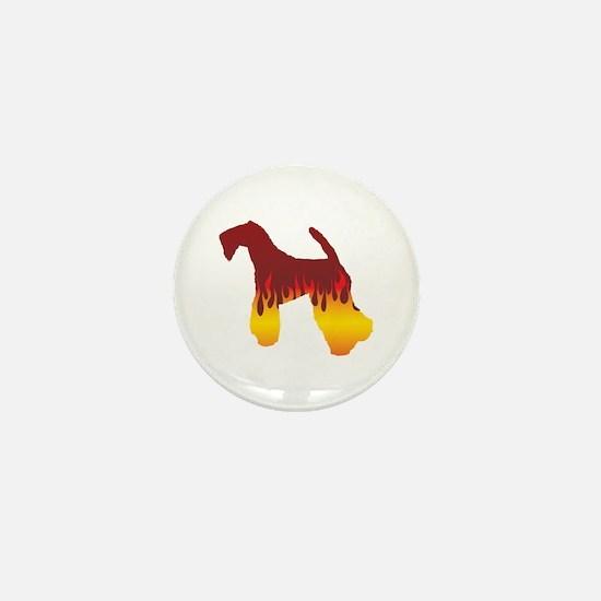 Kerry Flames Mini Button