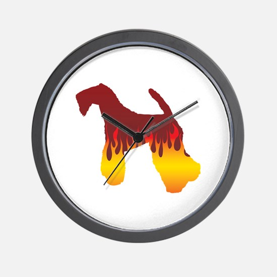 Kerry Flames Wall Clock