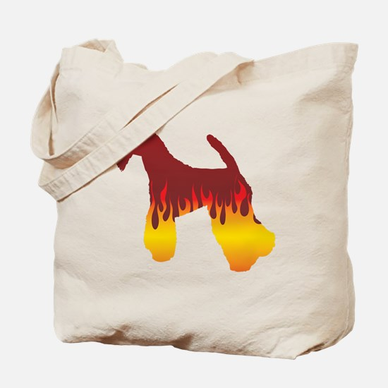 Kerry Flames Tote Bag