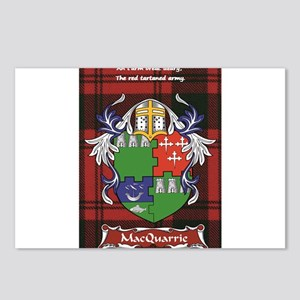 Scottish Surname MacQuarrie Postcards (Package of