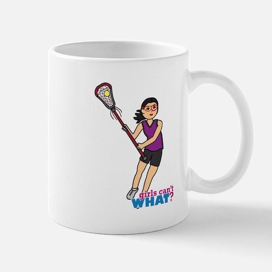 Girl's Lacrosse - Medium Mug