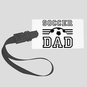 Soccer dad Luggage Tag