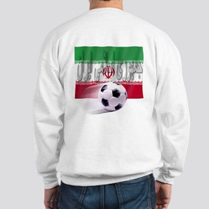 Soccer Flag Iran (Arabic) (B) Sweatshirt