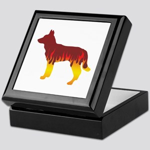 Jindo Flames Keepsake Box