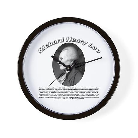 Richard Henry Lee 01 Wall Clock
