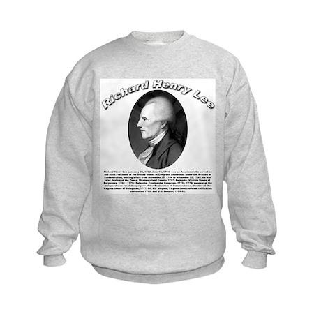 Richard Henry Lee 01 Kids Sweatshirt