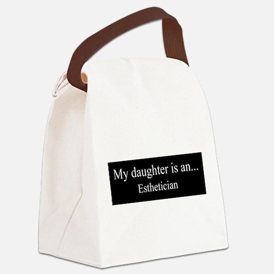 Daughter - Esthetician Canvas Lunch Bag