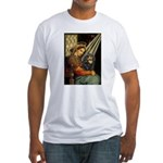 Madonna & Cavalier (BT) Fitted T-Shirt