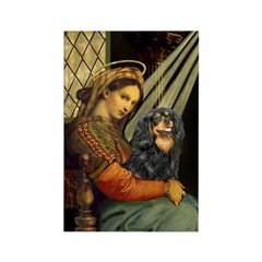 Madonna & Cavalier (BT) Rectangle Magnet