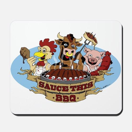 Saucethis Bbq Mousepad