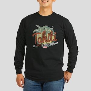 Not a Magical Place Long Sleeve Dark T-Shirt