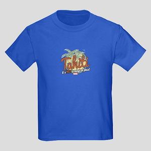 Not a Magical Place Kids Dark T-Shirt