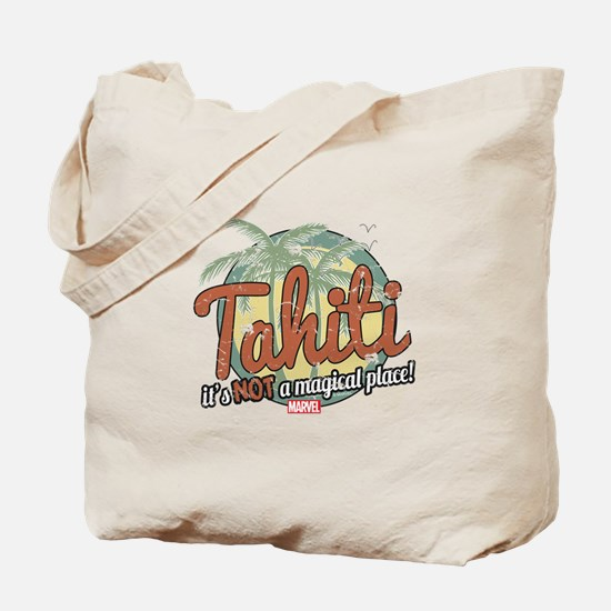 Not a Magical Place Tote Bag