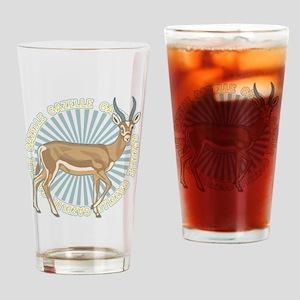 Gazelle Animal Classic Drinking Glass