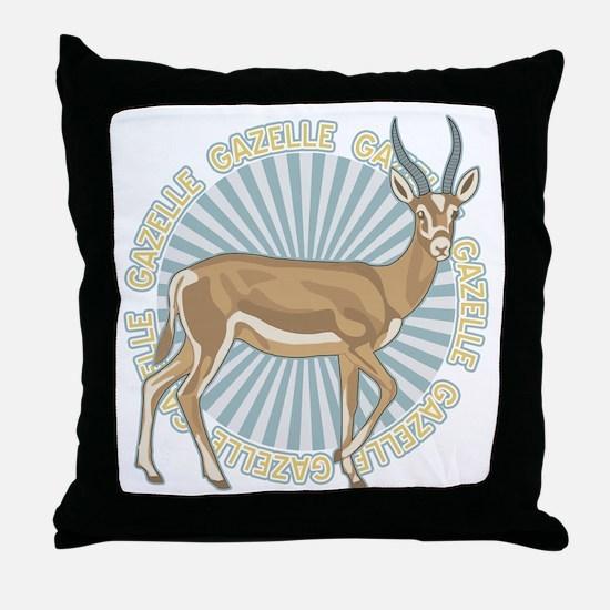 Gazelle Animal Classic Throw Pillow