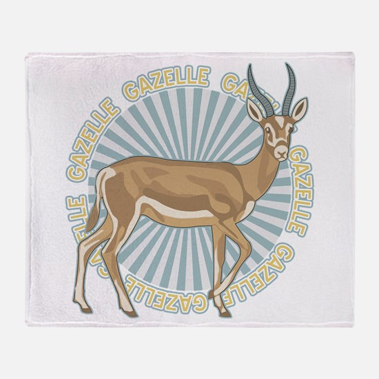 Gazelle Animal Classic Throw Blanket